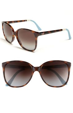 TOMS 'Sandela' 57mm Sunglasses (Save Now through 12/17) available at #Nordstrom