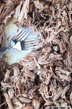 Slow Cooker Pork Shoulder (For Pulled Pork & Carnitas) Slow Cooker Pork Shoulder, Pork Shoulder Recipes, Healthy Eating For Kids, Clean Eating Snacks, Carnitas Recipe, Pork Stew, Slow Cooked Meals, Gourmet Recipes, Roast Recipes