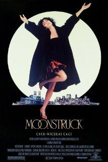 "BEST ACTRESS:    (1987""    CHER    in ""Moonstruck"" Loretta Castorini, a book keeper from Brooklyn, New York, finds herself in a difficult situation when she falls for the brother of the man she agreed to marry (the best friend of her late husband who died seven years previously)."