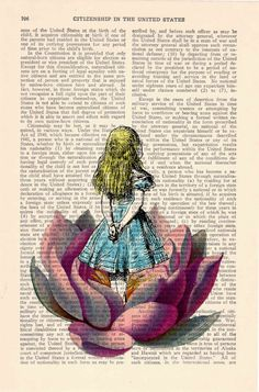 Alice in wonderland Alice in Prrintland Looking for a by PRRINT, $7.99