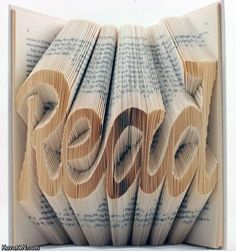this is so cool, and if I could actually defile books I would make one haha