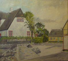 Bondebyen i 1960erne Painting, Art, Anchor, Art Background, Painting Art, Kunst, Paintings, Performing Arts, Painted Canvas