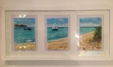 fused glass seascape - Google Search