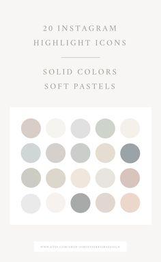 Paleta Pantone, Neutral Colors, Solid Colors, Neutral Color Palettes, Colour Pallette, Instagram Highlight Icons, Story Highlights, Color Stories, Pantone Color