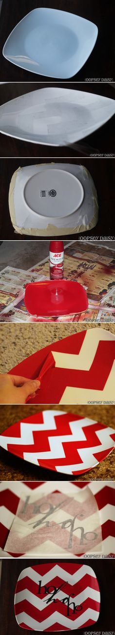 Holiday Homemade Plate