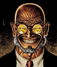 Dr. Hugo Strange. One of my favorite Batman villains. Robin Williams was rumored to portray him in The Dark Knight Rises before it was determined Tom Hardy would be playing Bane.