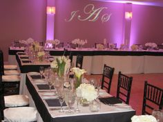 black & White wedding at the Hyatt Regency Newport Beach.