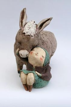 Sculptures Céramiques, Sculpture Clay, Paper Clay, Clay Art, Le Totem, Anne Sophie, Art Gallery, Clay Dolls, Ceramic Clay