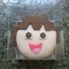 Mini Bolo - Dora Aventureira.