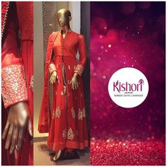 When in Doubt Wear Red! #Kishori #New collection # Indowesterns #Chic #Elegant