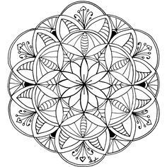 168 Best Printable Mandalas To Color Free Images Mandala