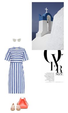 """""""oversize"""" by roza-guianna ❤ liked on Polyvore featuring 3.1 Phillip Lim, TradeMark, Fendi and Prism"""