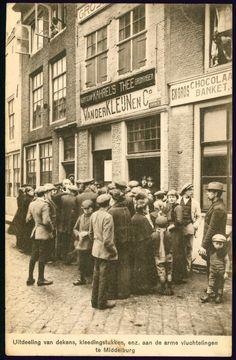 Bekijk hier het aanbod ansichtkaarten van op verzamelaarsmarkt. Wwi, Titanic, World War Ii, Holland, Dutch, Delft, Street View, History, Antique Pictures