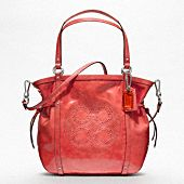 My new summer pocketbook! Coach - Audrey in coral