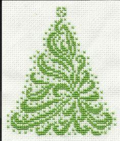 free christmas tree cross stitch patterns - Google Search
