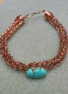 Turquoise and copper