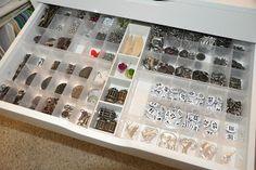 Richele Christensen: My Studio and getting organized.
