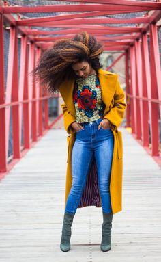 ecstasymodels:  L O V E   Coat from Nicole Shante // Top from Shami Oshun // Fashion Nova Jeans use XOXOSUNITAV for 15% off // Public Desire Boots   Fashion By Suntia V