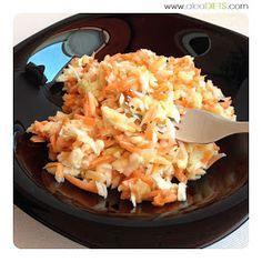 La dieta ALEA - blog de nutrición y dietética, trucos para adelgazar, recetas para adelgazar: Ensalada de col (o ensalada americana)