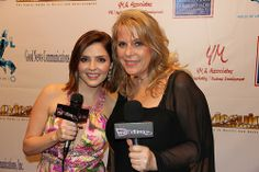 Jen Lilley, Kelly Bennett, Backstage Movieguide Awards Gifting Suite