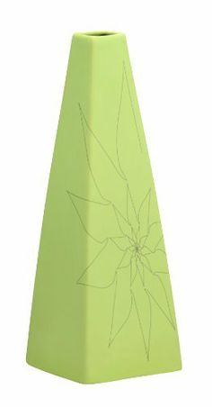 Zuo Modern Beatrice Triangular Vase, Large, Green by Zuo Modern, http://www.amazon.com/dp/B007OYQNZQ/ref=cm_sw_r_pi_dp_iIdAqb0SMNYEN