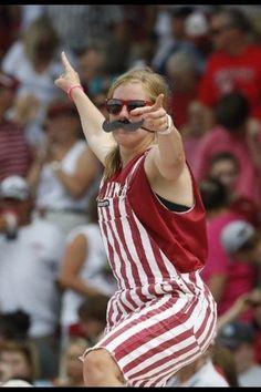 Who is that girl? Meet Alabama softball superfan Emily Pitek Clifford.