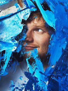 """Y todas mis paredes se quedaron arriba pintadas de azul Y las derribaré, las derribaré y abriré la puerta para ti""""."""