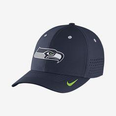 b4311d7933d87 Nike Legacy Vapor Swoosh Flex (NFL Seahawks) Fitted Hat. Nike.com Seattle