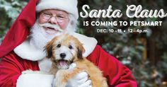 PetSmart: Free Photo Of Your Pet With Santa (December 10th &11th)
