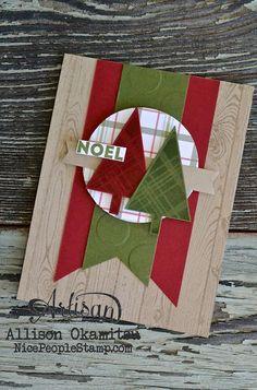 nice people STAMP!: Lots of Joy Christmas Card