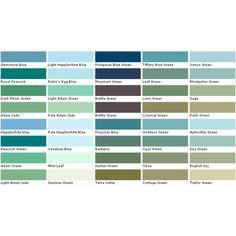 Valspar Enamel Spray Paint Color Chart I Could Make That