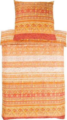 Tolle Bettwäsche »Piermarini« der Marke Bassetti. Das Design dieser Bettwäsche kann sich sehen lassen: hier fügen sich Blumen, Blüten, Paisleys, kleine Herzchen und vieles mehr zu einem stimmigen Muster zusammen. Die gedeckten Farben lassen den Kissenbezug und Bettbezug schick und edel wirken. Durch die hochwertige Mako-Satin Qualität aus reiner Baumwolle bekommt der Stoff einen leichten seidig...