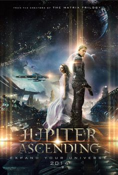 Jupiter Ascending. July 18th want to see this!!