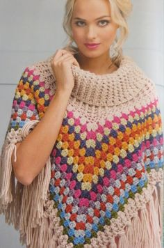 Lazy Daisy Jones: That Poncho from simply crochet Issue 25