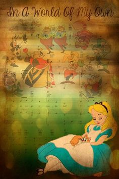 Day 1 : alice in wonderland is my all time favourite disney movie I just love the characters the colour and alice Kingsleys personality