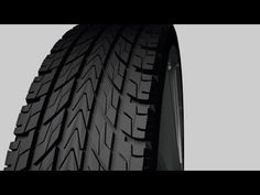 3ds Max Tutorial | Modeling Tire Treads - YouTube