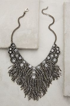Fringed Delicacies Necklace #anthropologie