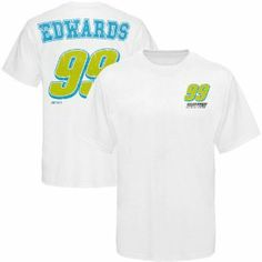 Chase Authentics Carl Edwards 2011 Holiday Driver T-Shirt - White (Small) by Football Fanatics. $23.95. Distressed screen print graphics. Lightweight ribbed T-Shirt. Rib-knit collar. Reinforced taped collar seam. Imported. In other sports, showing support for your favorite team by wearing a replica jersey of what the players don is a common thing. But with NASCAR, things are a little different. Unless you are a pyromaniac who loves to walk into fires, sporting ...