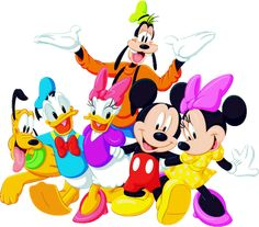 Disney And Cartoon Clip Art Images