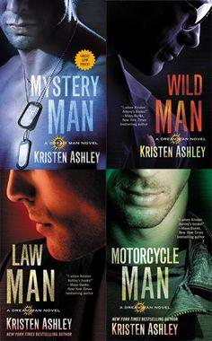 Românticos e Eróticos Book: Kristen Ashley - Dream Man #1 a #4