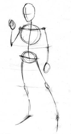 Sketchy Human Figure