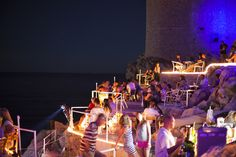 Buza: outdoor bar set on the cliffs with a stunning view. Great for sunset cocktails