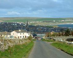 Thurso. Skottlands nordligaste stad.