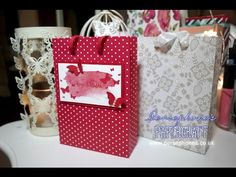 ▶ Professional Paper Bag | Stampin' Up (UK) with Persephone's Papercraft - YouTube