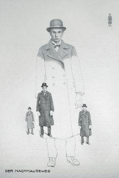 Franz Kafka. Contemplation.  - Jan Peter Tripp