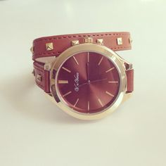 Double Strap Stud Watch