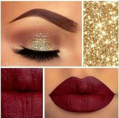 Create this look with NYX Matte Lipstick - gorgeous         #affiliate