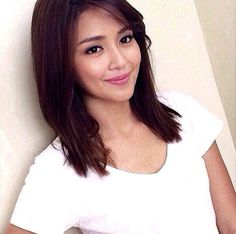 This is the pretty Kathryn Bernardo smiling for the camera in her new makeover in which she bleached her skin as a white mestiza, cut her hair short, and dyed her hair light brown during a taping of Wansapanataym: Puppy Ko Si Papi last 2014. Indeed, Kathryn is another of my favourite Kapamilyas and she's an amazing Star Magic talent and proud alumna of Goin' Bulilit. #KathrynBernardo #TeenQueen #Wansapanataym #PuppyKoSiPapi