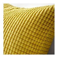 IKEA - GULLKLOCKA, Cushion cover, yellow, Chenille fabric feels ultra soft against your skin. The zipper makes the cover easy to remove. Ikea Yellow Cushion, Yellow Cushion Covers, Yellow Cushions, Cushions On Sofa, Throw Pillows, Accent Pillows, Classic Cushion Covers, Classic Cushions, Ikea Pinterest