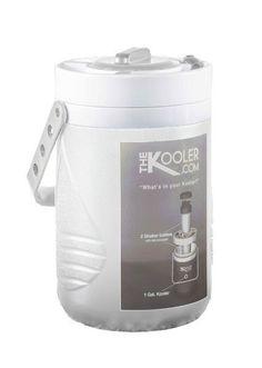 Kooler 1.0 White plus 2 Shaker Bottles